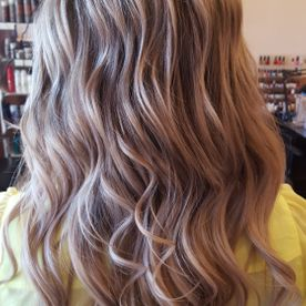 inspired salon wavy hair