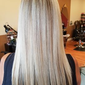 inspired salon blonde hair