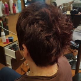 inspired salon short cut
