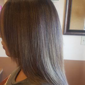 inspired salon straight cut